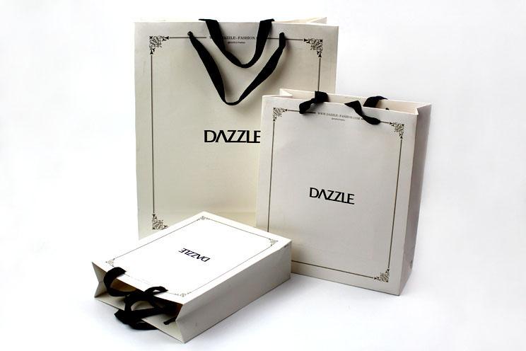 DAZZLE地素品牌服饰手提袋印刷