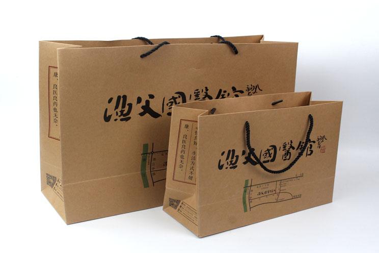 渔父国医馆手提袋印刷