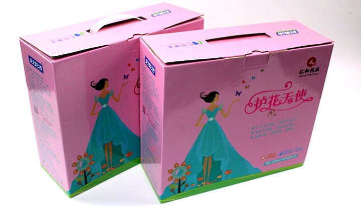 湖南仁和康美电子商务有限公司与日大彩印合作定制产品礼品包装盒